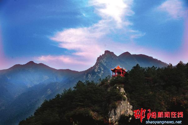 新邵县白云岩风景