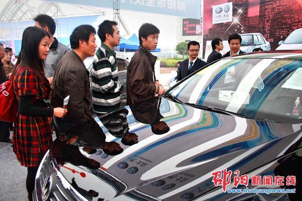 2010邵阳夏季汽车展览会开幕照片集
