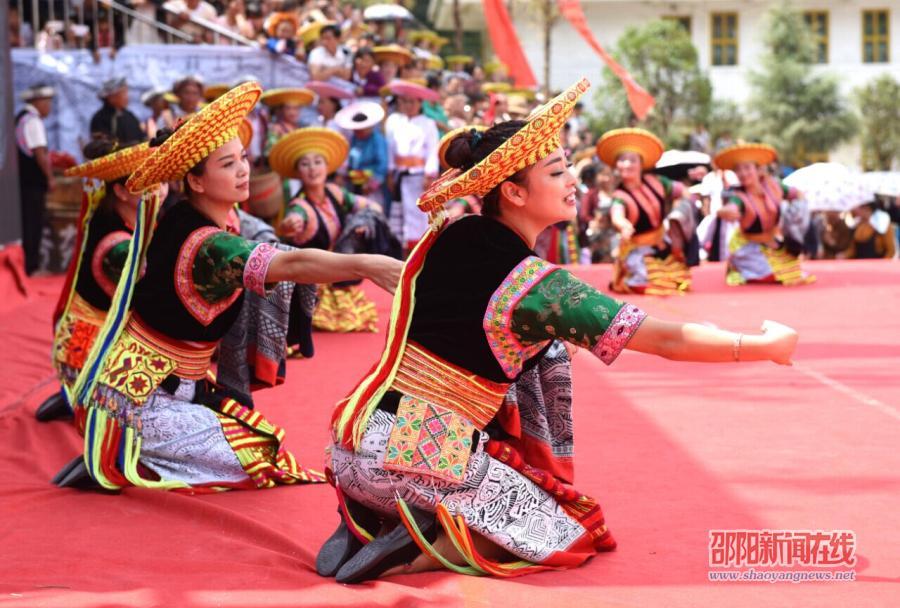 隆回县共同庆祝山界回族乡、虎行山瑶族乡建乡60周年