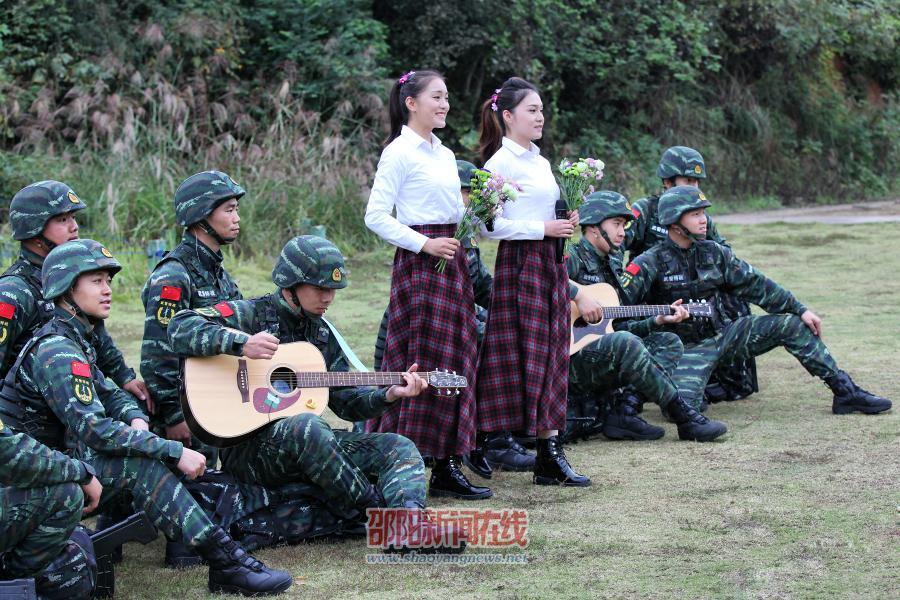 武警部队唱响强军战歌