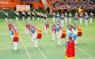 2016年邵阳市少先队鼓号队展示大赛举行