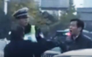 """相声演员大兵开车刮擦后问交警""""你算老几"""""""