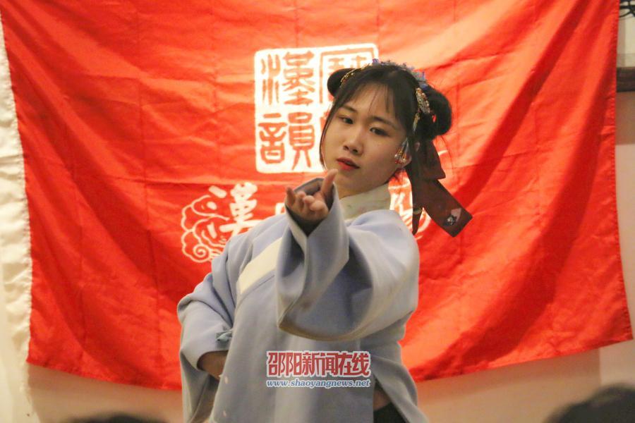 """邵阳汉服社开展""""宝庆汉韵""""中国传统文化活动"""
