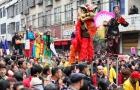 邵阳县传统艺术巡游展演 吸引五万余名群众