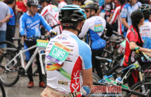 """城步举办首届""""环保安全杯""""自行车赛"""