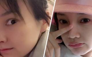 李小璐撞脸吴昕和BABY是巧合?
