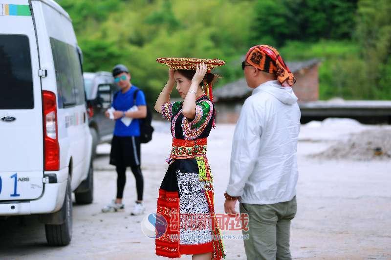 湖南省旅游形象宣传片来邵阳取景 侗族歌手王馨成宣传片主角