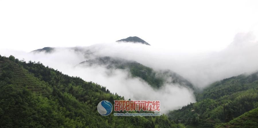 夏季,去舜皇山吸氧看云