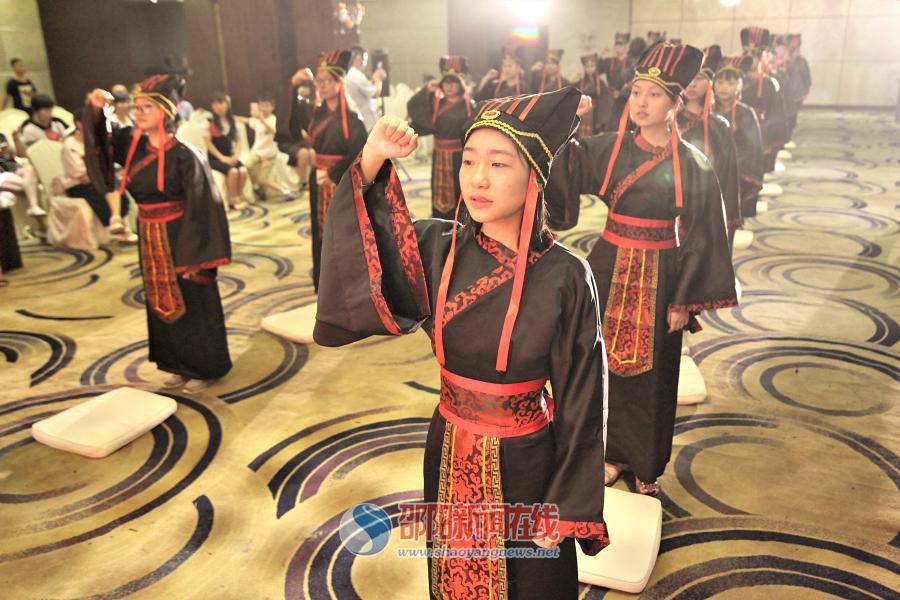邵阳市举行首届18岁成人礼