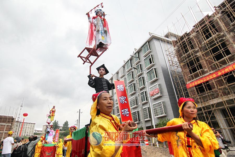 邵阳县非遗展演:看得见传承 留得住乡愁