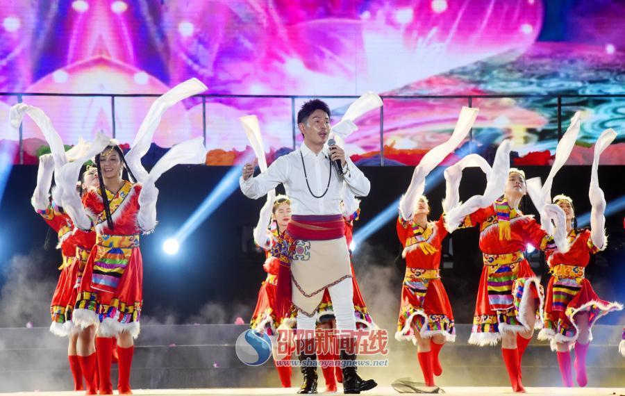 湖南(南山)六月六山歌节暨湘桂原生态风情节开幕式
