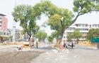 邵阳雪峰南路北段施工现场热火朝天 预计9月30日通车