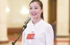 邵阳妹子参加中国共产党第十九次全国代表大会并接受采访