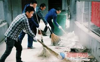 双清区东风路街道办事处组织开展社区服务活动