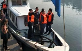 邵阳市交通运输局巡航督察市区港口码头专项整治工作进度