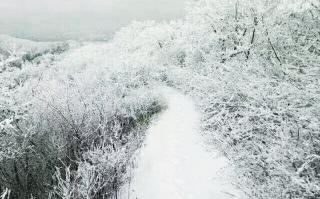 隆回县迎来2017年冬天第一场雪