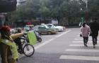 邵阳交通劝导员感叹越来越清闲 礼让的人越来越多