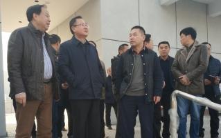 龚文密调研邵阳市体育中心及周边路网项目建设