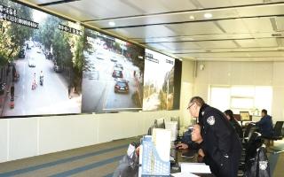 邵阳市交警支队对指挥中心监控视频进行升级
