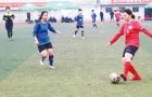 全省青少年(女子甲组)足球锦标赛邵阳开赛