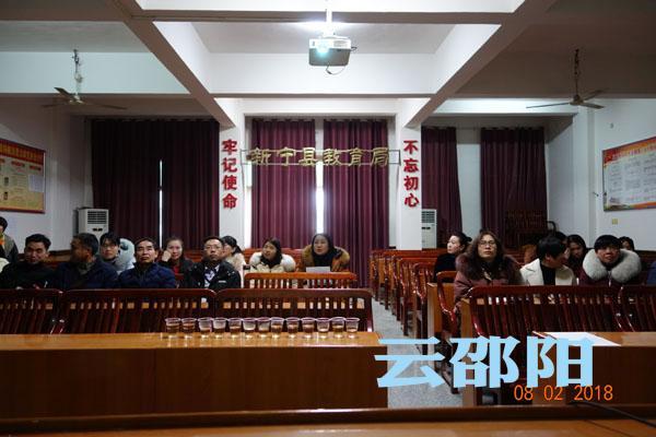 新宁县举行2017年幼儿园课题研究总结交流会