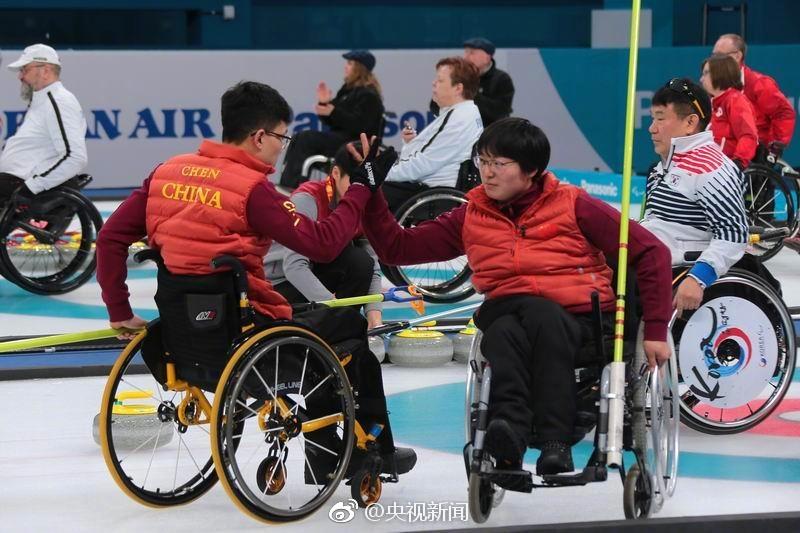 创造历史!中国挺进冬残奥会轮椅冰壶决赛