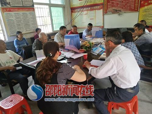 新邵太芝庙镇:党员集中学习 增强党性修养