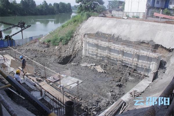 洄水头污水提升泵站加快建设 未来将解决污水直排问题