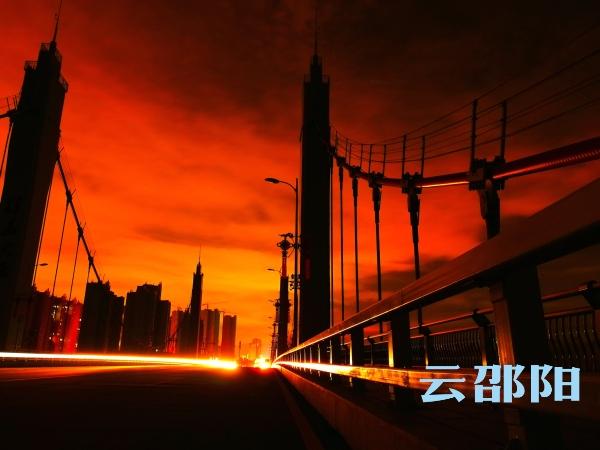 邵阳拍客 | 午夜的邵阳,惊艳的风景