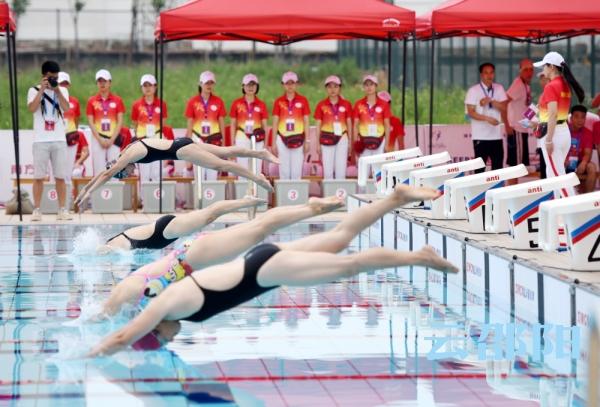 邵阳拍客 省运会游泳(成年组)比赛首日精彩回顾