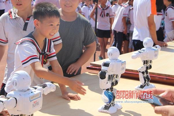 隆回县教育系统2018年主题科技活动启动仪式在九龙学校举行