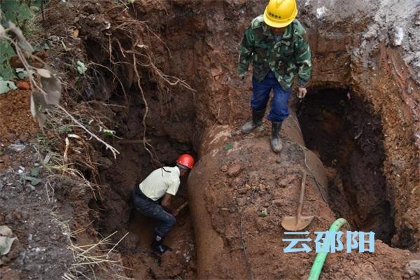 邵阳城区10处自来水漏点仅用18小时维修到位
