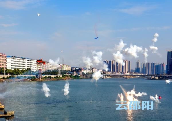 邵阳拍客 | 邵阳市举行重要经济目标防护演练