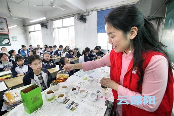 邵阳拍客 | 中小学生领略中华传统茶文化之美