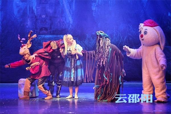 邵阳拍客 | 邵阳巡演大型励志魔幻儿童剧《冰雪奇缘》