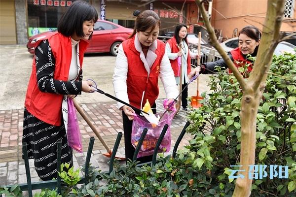 邵阳拍客丨邵阳140余个单位和部门陆续开展志愿服务活动
