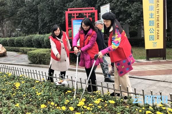 国际志愿者日 邵阳市全民志愿服务在行动