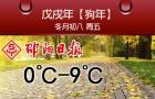 早安邵阳 | 今日多云,气温0℃-9℃