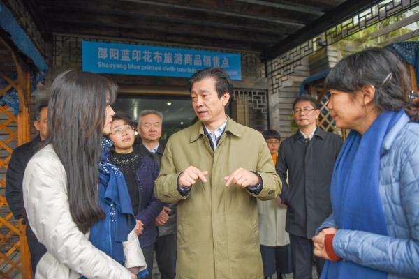 蔡振红在邵阳调研时强调 加快公共文化服务体系建设 提升精神文明创建质量水平