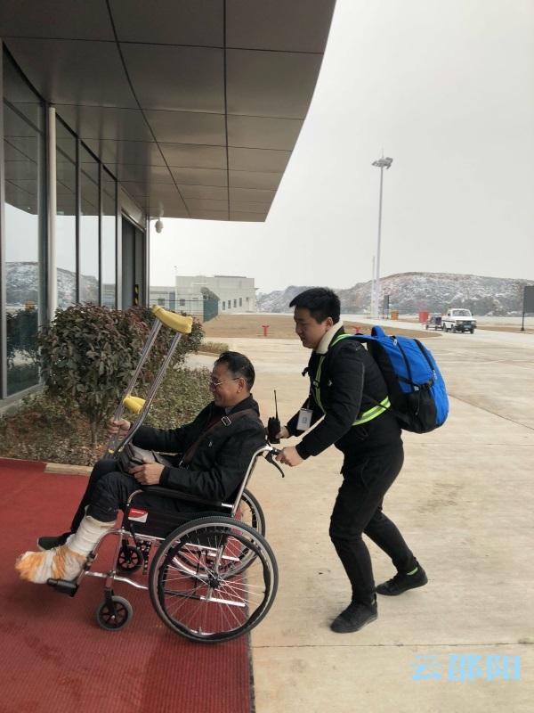 春运第一天丨邵阳武冈机场春运首个航班接来204位旅客抵邵