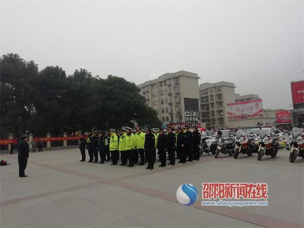 群众春运出行的守护者 ——邵阳市交通执法支队护航春运城市公共客运纪实