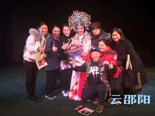 邵阳文艺团体演出的祁剧《目连救母》亮相株洲