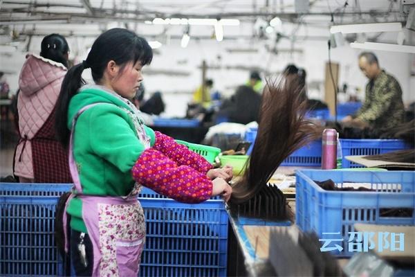 邵阳拍客丨邵阳产业女工:双手创造幸福,未来充满希望