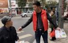 文明出行我示范——武冈市应急管理局志愿者交通劝导树文明新风