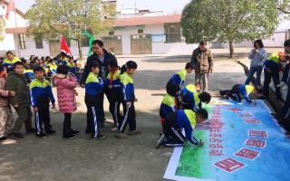 邵阳县塘田市镇河边学校禁毒宣传大会:珍爱生命,远离毒品