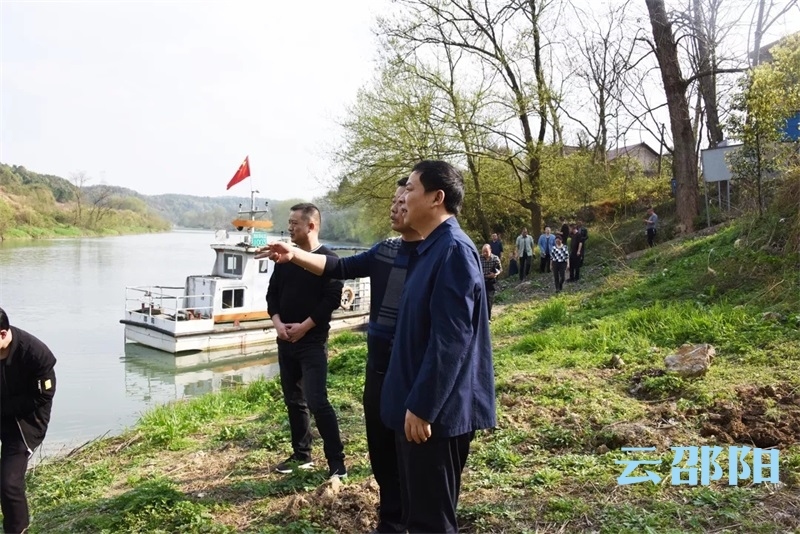 betway官网这位副市长巡河时要求:以先锋模范姿态保护好每一条母亲河