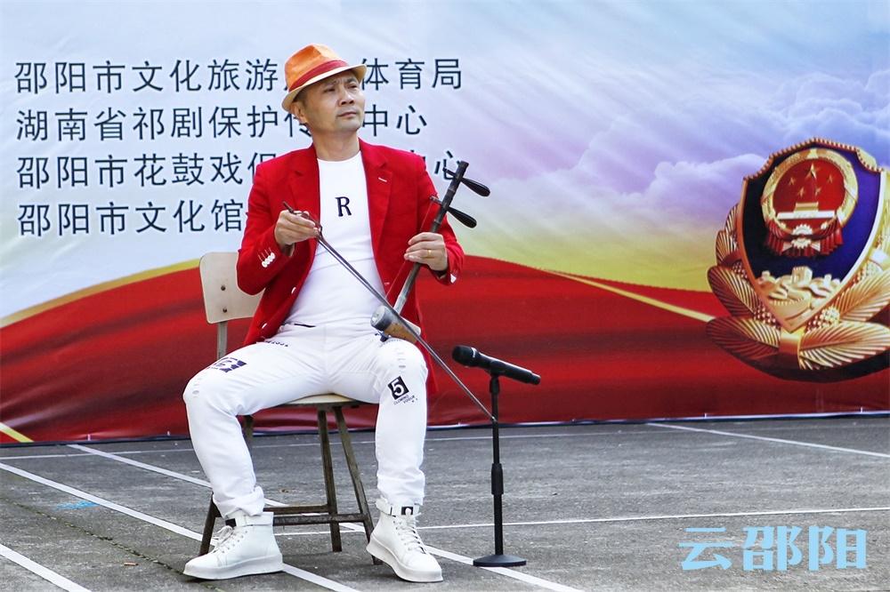 """邵阳市""""扫黑除恶治乱 共建平安邵阳""""宣传演出首演"""