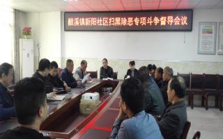 新邵县酿溪镇纪委多举措开展扫黑除恶专项斗争工作