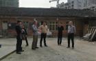 绥宁县副县长王世刚实地调研该县凉席厂改制和老年康复医院建设