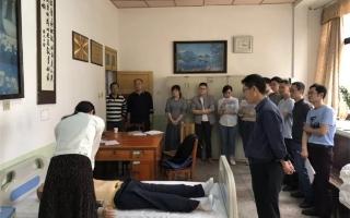 邵东县中医医院开展执业医师技能培训